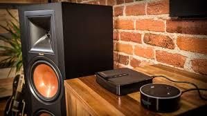 klipsch powered speakers. klipsch r-28pf floor-standing speakers powered d