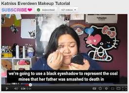 just a fun hunger games make up tutorial