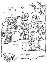 De 112 Beste Afbeelding Van Winter Kleurplaten Coloring Pages