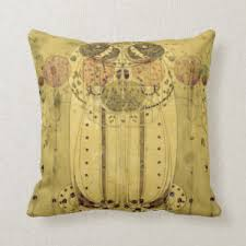 charles rennie mackintosh the wail throw pillow