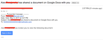 Phishing Scam Heads Up Massive Google Doc Phishing Scam Has Hit The Scene
