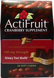 Enzymatic Therapy <b>ActiFruit</b>™ <b>Cranberry Fruit Chew</b> Supplement ...