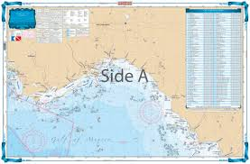 Big Bend Offshore Fish And Dive Chart 18f