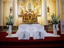 Decoration Designs For Church Altar Church Decoration Ideas for Wedding JenisEmay House Magazine 1