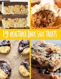 baking sale 19 healthier bake sale treats that are perfect for fall