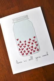 diy mason jar card