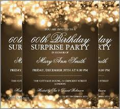 Surprise Party Invitations Free Download In 2019 Surprise