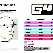Cookie G3 Size Chart Helmets Square1 Com