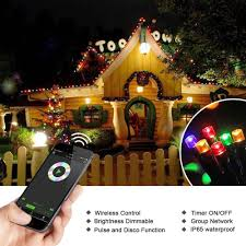 Dimmable Christmas Lights Dimmable Led Christmas Lights 200 Led 65ft Mini String
