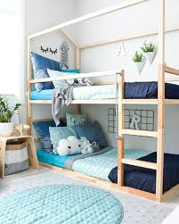 Kids Room: Cute Bunk Beds For Twins - Shared Bedroom