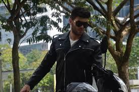 replica leather jacket like negan from the walking dead