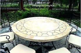 60 round outdoor dining table cast aluminum outdoor patio set inch round dining table wrought inch