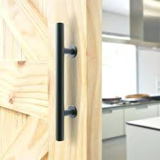 high quality black metal sliding barn door pull handle wood handles modern pulls rustic set barn door
