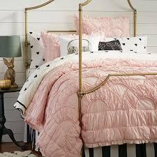 The Emily & Meritt Parisian Petticoat Quilt + Sham | PBteen & The Emily & Meritt Parisian Petticoat Quilt + Sham Adamdwight.com