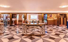 Harrods Design Studio Martin Brudniski Gives Harrods Wine Cellar A Make Over