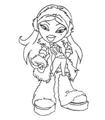 Small Picture Free Printable Bratz Coloring Pages For Kids