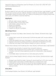 Sample Of Paralegal Resume Entry Level Paralegal Resumes Paralegal ...