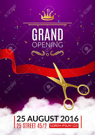 invitation flyer grand opening invitation card grand opening event invitation