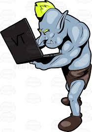 Image result for internet trolls clip art