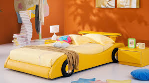 rider kids leather bed