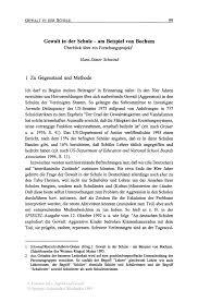 Gewalt In Der Schule Am Beispiel Von Bochum Springer