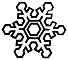 雪の結晶 無料クロスステッチ図案チャートフリーさくらんぼ