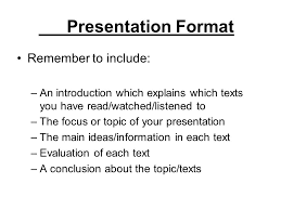 presentation format remember to include ppt  presentation format remember to include