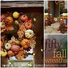 Fifty Fall Wreath Ideas & Inspiration For the Entire Autumn Season ...