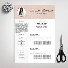 Download Modern Resume Tempaltes Resume Template Cv Template For Ms Word Cover Letter Professional
