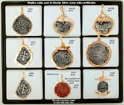 replica treasure coins cast in 100 atocha silver