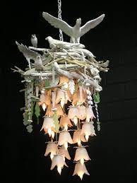unusual lighting fixtures. birds nest chandelier definitely creative unusual lighting fixtures