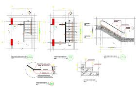 Rcc Building Design Software Free Download Download Free Rcc Staircase Structure Design Autocad File