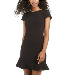 B Darlin Size Chart Juniors Ruffle Hem Dress