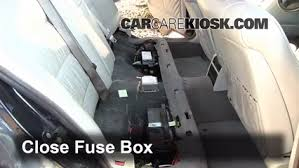 interior fuse box location bmw i bmw i l v