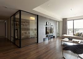 Small Picture Living Room Design Dark Laminate Flooring Tile Glass Door Wall