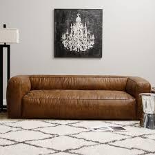 handy living laura sofa in parisian rust autumn velvet