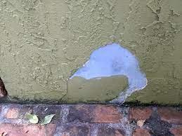 exterior stucco wall