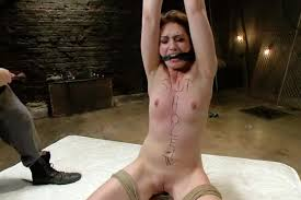 Women bondage gagged rough sex
