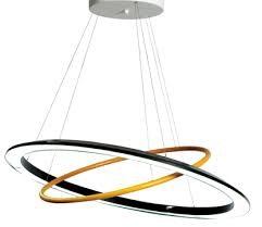 roche bobois lighting. lacquered aluminium oo suspension from roche bobois lighting