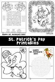 Check out jumpstart's fun collection of st. St Patrick S Day Activity Sheets Coloring Pages Woo Jr Kids Activities
