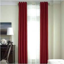 Red And Black Curtains Bedroom Red Curtains For Bedroom Royal Velvet ...