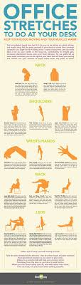 infographic office stretches not that i work at a desk anymore but this can always come in handy