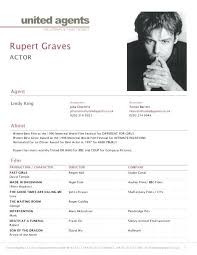 Resume Examples For Actors Theater Resume Samples Actor Sample Actors Spacesheep Co