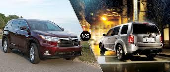 2015 Toyota Highlander vs 2015 Honda Pilot