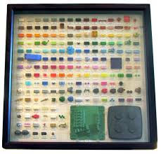 Lego Brick Colour Chart This Periodic Table Of Lego Brick Colors Is The Chart You