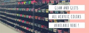 Glam And Glits Nail Design