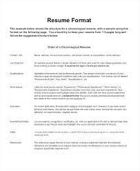 Format On Resume Format Resume Di Malaysia Resume Web