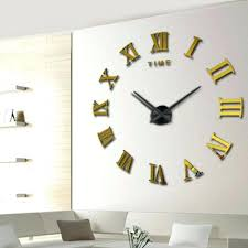 Small Picture contemporary large wall clocks extra large big wall clocks