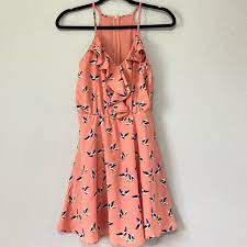 Maude Dresses | Anthro Maude Bird Print Dress | Poshmark