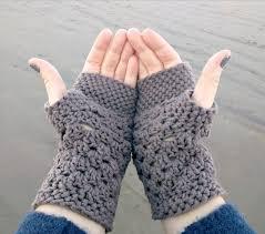 Crochet Gloves Pattern Beauteous Chunky Fingerless Gloves Free Crochet Pattern Db48